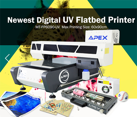Digital UV6090 Flatbed Printer